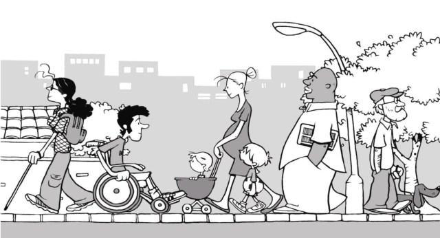 Pedestres Imagem: Internet - BID
