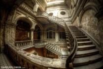 Das Treppenhaus im Märchenschloss