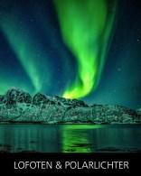 Begib dich mit uns auf eine spannende Fotoreise zum Polarlicht auf die Lofoten im nördlichen Teil von Norwegen.