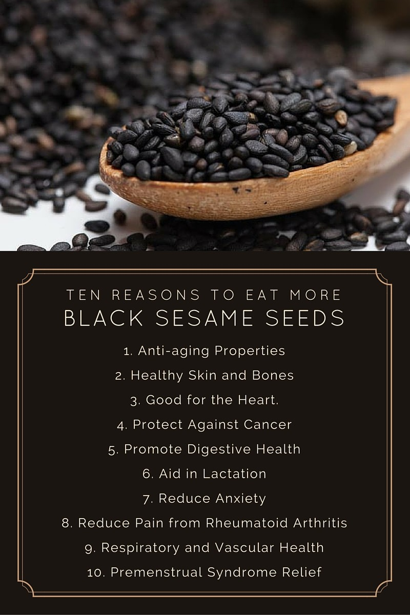 10 Benefits Of Black Sesame Seeds You Need To Know