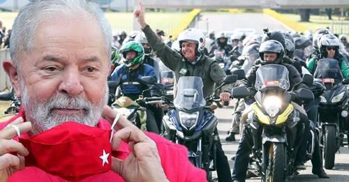"""Lula: """"Com metade do que tenho nas pesquisas"""", Bolsonaro tem """"medo de ir pra rua"""""""