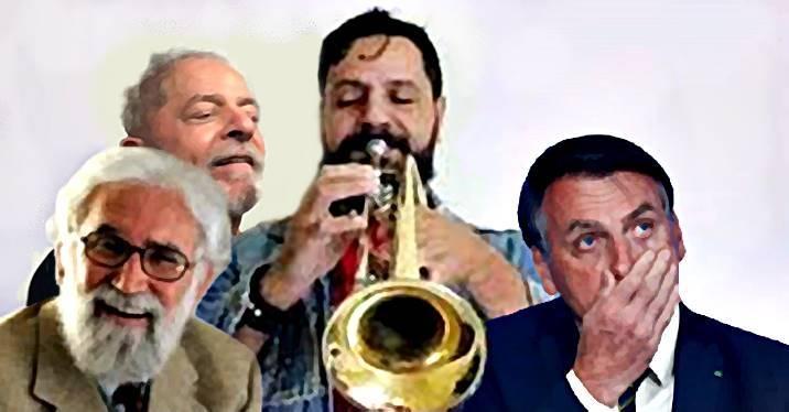 Leonardo Boff sugere ao PT usar o 'TromPetista' para irritar Bolsonaro