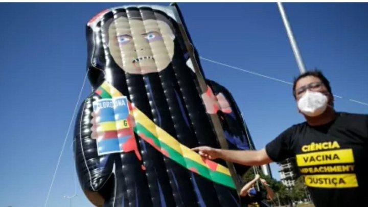 """Puxadas pelo """"Capitão cloroquino"""", manifestações contra Bolsonaro já estão marcadas em 84 cidades"""