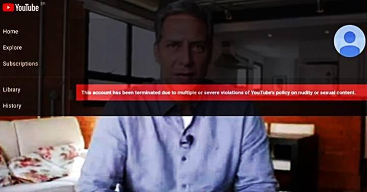 Mais um bolsonarista perde nas redes; desta vez o YouTube tirou do ar o canal de Lacombe