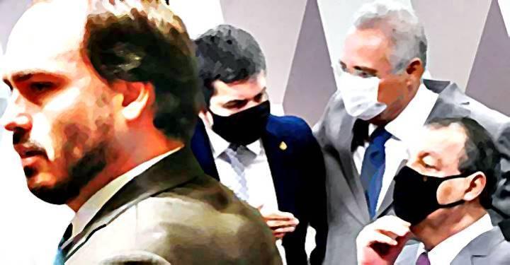 CPI da Covid quer quebra de sigilo telefônico de sete pessoas, incluindo Carlos Bolsonaro