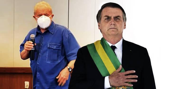 """LULA: """"Se [Bolsonaro] sair correndo e não quiser entregar a faixa, é o povo brasileiro quem vai entregar"""""""