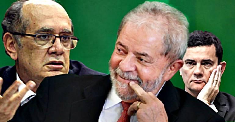 Lula enfim Livre: Gilmar estende suspeição de Moro a todos os processos e tudo volta à estaca zero