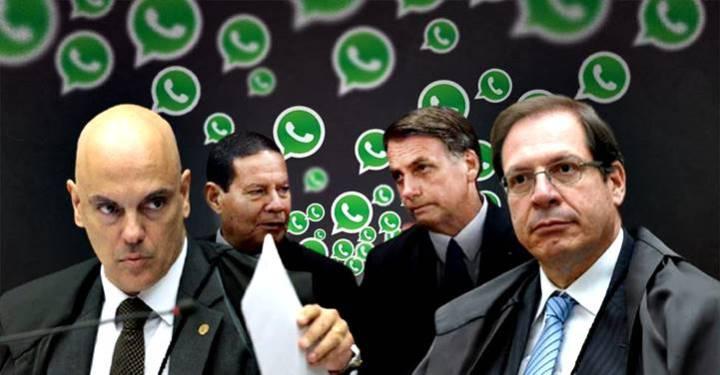Com provas de disparos de fake news, ministros se reunirão para decidir a cassação de Bolsonaro