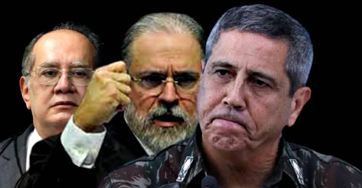 Aras vai intimar Braga Netto para explicar supostas ameaças às eleições de 2022