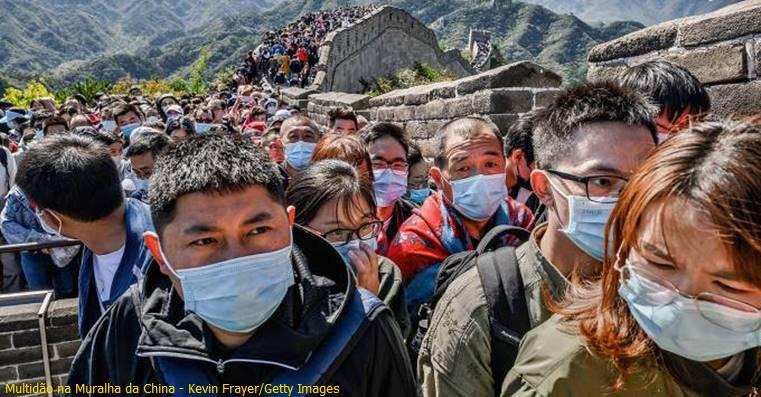 Com 200 casos da variante Delta, China faz lockdown estrito e testagem em 9 milhões