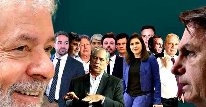 """""""Terceira via"""" já lançou mais de 10 nomes, mas maioria dos eleitores só quer LULA"""