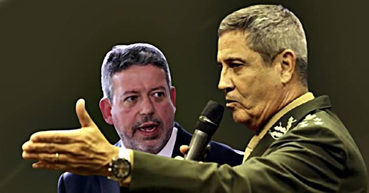 """Braga Neto teria mandado recado a Lira: sem voto impresso e auditável """"não haveria eleições em 2022"""""""