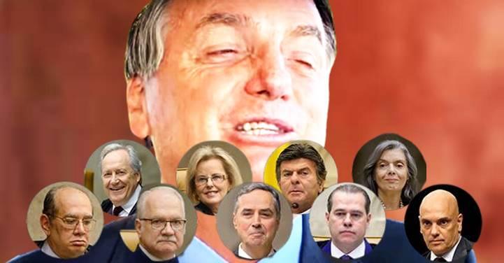 """Bolsonaro """"não perde por esperar"""", diz jornalista. """"O troco da Justiça"""" será dado ao """"antidemocrata"""""""