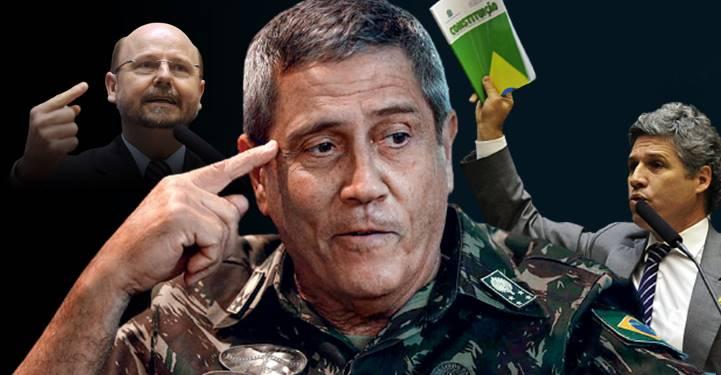 Deputados vão ao STF contra Braga Netto e pela inclusão de seu nome no inquérito dos 'atos antidemocráticos'