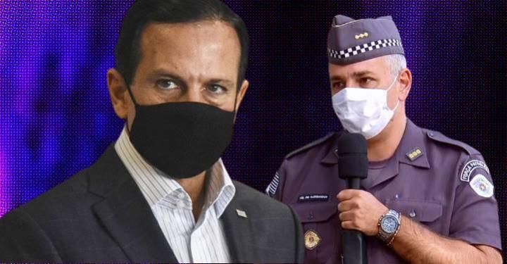 Doria afasta coronel que convocou manifestação bolsonarista para 7 de Setembro e o atacou