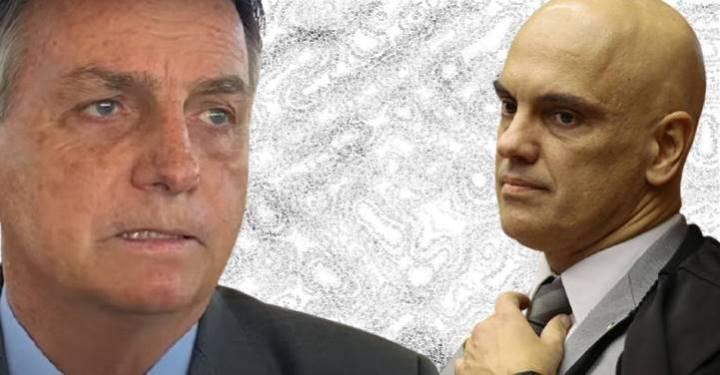 MORAES inclui BOLSONARO no inquérito das FAKE NEWS por uso de estrutura de ORCRIM