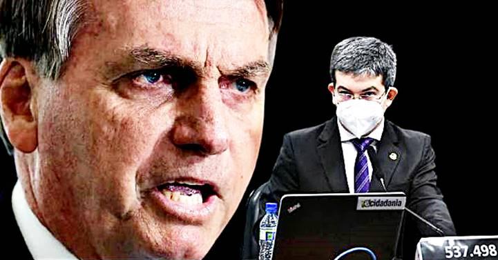 A CPI voltou e denunciará Bolsonaro à Corte Internacional por lesa-humanidade, diz Randolfe
