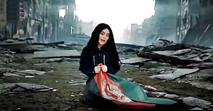 """""""Não deixe eles me pegarem, me mate primeiro"""", implorou estrela pop afegã ao noivo no caminho para o aeroporto"""