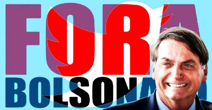"""Presidente dá """"Bom dia"""" no Twitter, diz que testou negativo para Covid e leva """"Fora Bolsonaro"""""""