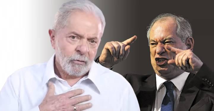 Ciro Gomes se acha 'a novidade' e sem conseguir se conter volta a atacar Lula