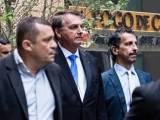 Donos de churrascaria em Nova Iorque fazem 'curralzinho' para Bolsonaro almoçar na calçada