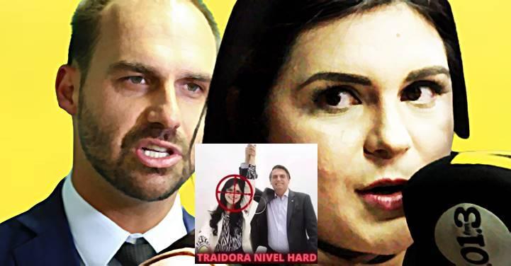 """""""Me senti muito ameaçada, como se tivesse vindo do PCC"""", diz deputada sobre Eduardo Bolsonaro"""