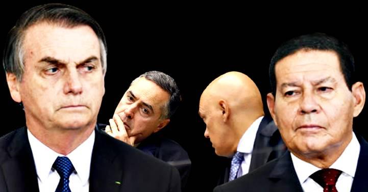 """Provas de fake news em 2018 são """"material forte"""" e podem cassar chapa Bolsonaro-Mourão, diz jornal"""