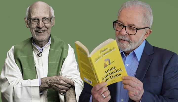 Para o domingo, LULA recomenda leitura de livro do amigo Pe. Júlio Lancellotti: 'Amor à maneira de Deus'