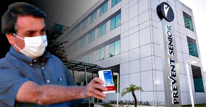 Prevent Senior ocultou óbitos em estudo sobre cloroquina, com resultados manipulados, apoiado por Bolsonaro