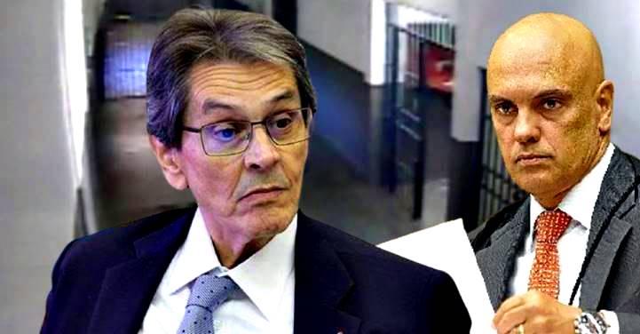 Alexandre de Moraes manda Roberto Jefferson do hospital de volta a Bangu 8