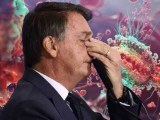 """[Vídeo] Bolsonaro espalha fake news de que após 2ª dose a AIDS é desenvolvida """"muito mais rápido"""", em 15 dias"""