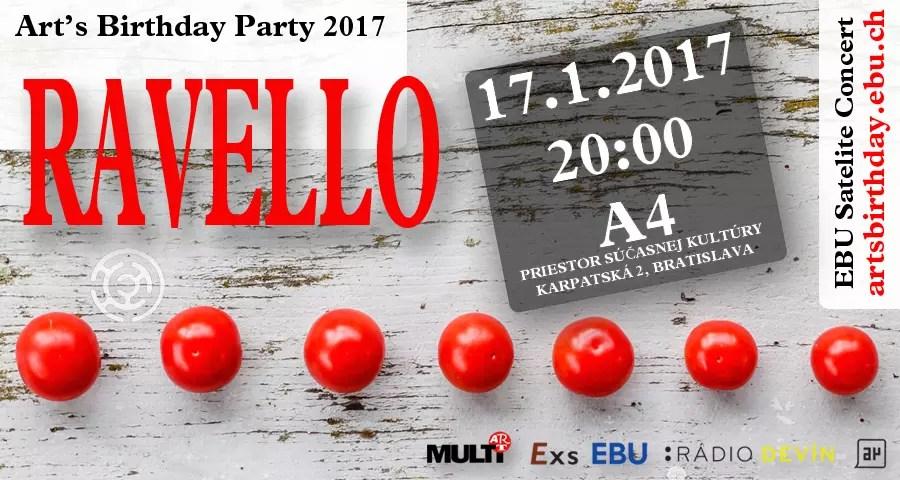 17 January 2017 :: Art's Birthday Party 2017: Ravello