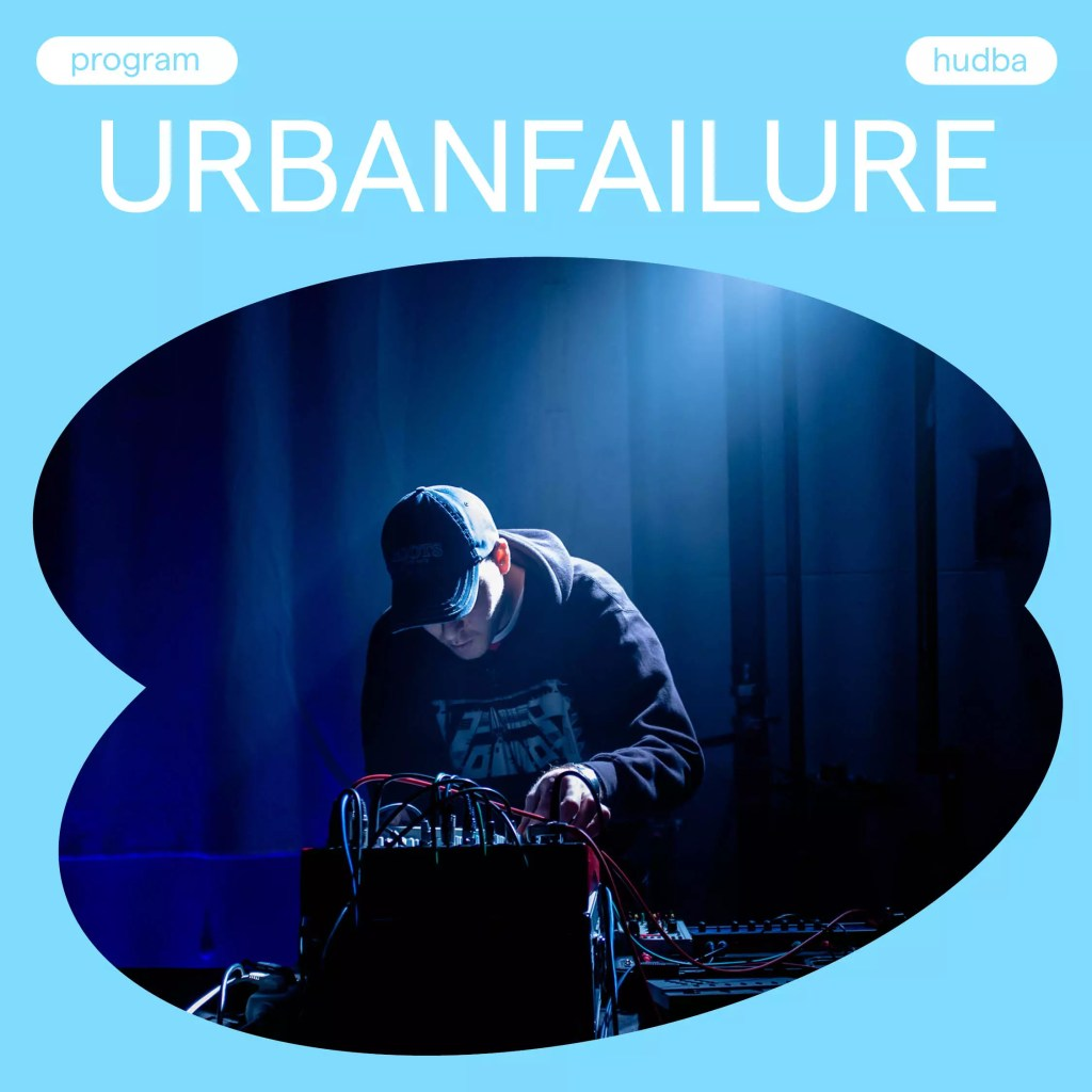 Urbanfailure plays live at non-mainstream festival Luhovany Vincent 2021.