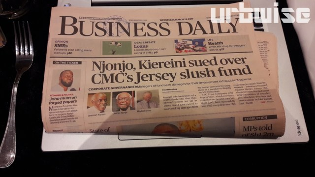 Business Daily Redesign
