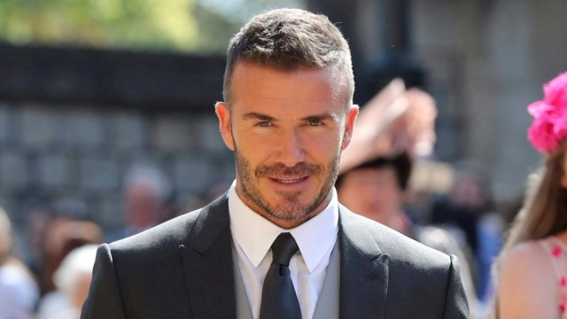 David Beckham banned from driving