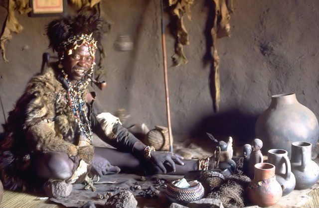 Tanzania Witch doctor