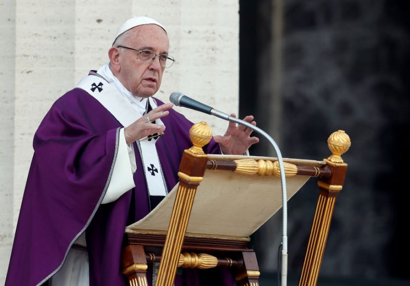 Pope appoints first female in senior role