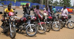 Bodaboda operators in Finance bill 2019,