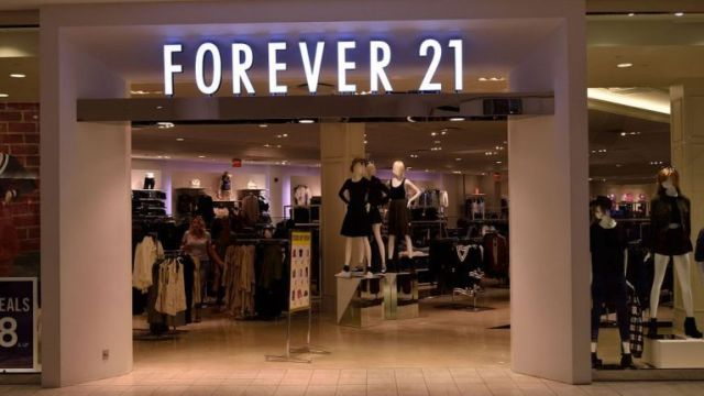 Forever 21,Chapter 11 Bankruptcy Protection