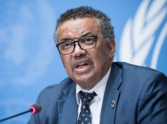 Dr Tedros, WHO Director General
