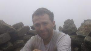 Optimist atop Mt. Moosilauke
