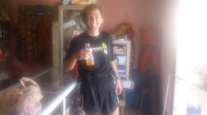 Matt running in Guatemala