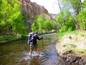 Walking with wired, cdt, continental divide trail