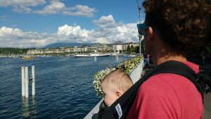 Showing Paavo the waterfront
