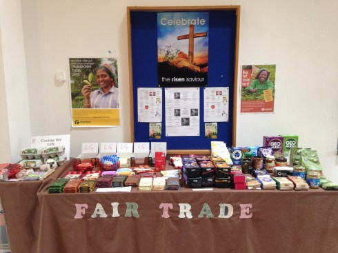 Barry's FairTrade stall
