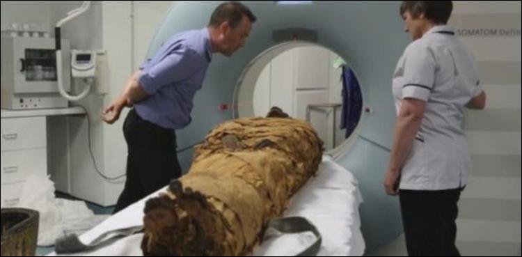 ہزاروں سال قدیم حنوط شدہ لاش دوبارہ بول پڑی