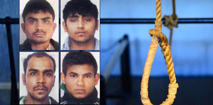 بھارت زیادتی کیس، رحم کی اپیل مسترد، مجرمان کو پھانسی دینے کی تاریخ کا اعلان