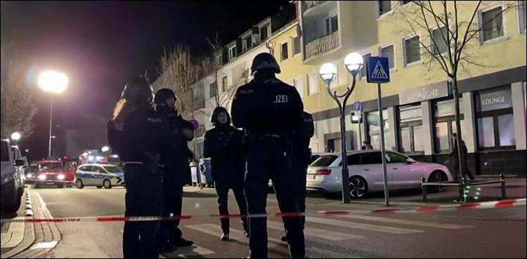 جرمنی میں 2 شیشہ بارز میں فائرنگ، 8 افراد ہلاک