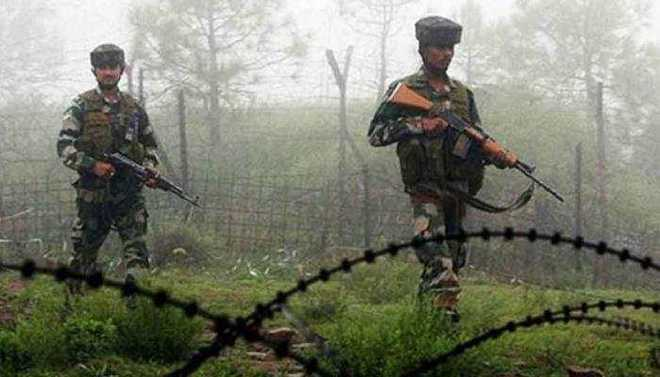 سانبہ میں بین الاقوامی سرحد پر پاکستانی فوج کی فائرنگ: بی ایس ایف