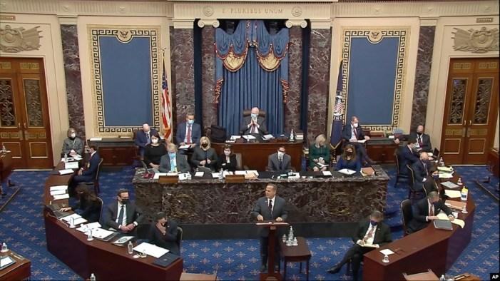 سینیٹ نے ٹرمپ کے مواخذے کی کارروائی جاری رکھنے کی منظوری دے دی